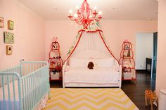 A daybed can help for your child transition from crib to big bed.