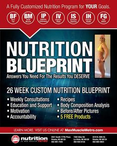 Did you make a weight loss or muscle gain resolution? Starting to struggle or hitting a plateau? It's time to take advantage of our 26 week custom nutrition plan! Find a location near you at www.maxmusclemetro.com -Education -Track progress -Interactive online based software -Accountability -Support We are here to help you build a lifestyle for life! #maxmuscle #healthy #goals #fitness #lifestyle https://www.instagram.com/p/BP5mDdXhF4x/ via https://www.maxmuscleomaha.com