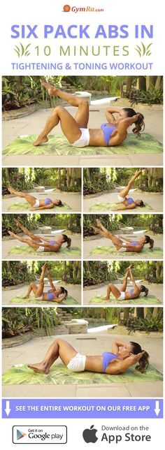 Tone your abs & trim your waist like never before with this killer abs workout!
