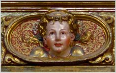 Angel del Altar Mayor de Pampliega.
