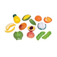 Peelable Fruits and Vegetables Fruits And Vegetables, Own Home, Work On Yourself, Toys, Fun, Activity Toys, Fruits And Veggies, Games, Toy
