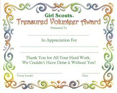 Girl scout daisy certificate scouts daisies and girls southern saratoga service unit certificates southern saratoga service unit of the girl scouts of northeastern new york yadclub Image collections