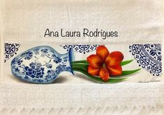 Laura Rodrigues, Spoon Rest, Antiques, Tableware, Painting, Diy, Crafts, Bath Towels & Washcloths, Face Towel