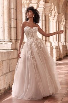 Tulle Wedding, Bridal Wedding Dresses, Bridal Style, Wedding Bells, Gown Gallery, Maggie Sottero Wedding Dresses, Princess Wedding, Bridal Boutique, Orlando
