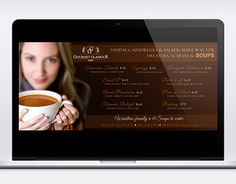 """Check out new work on my @Behance portfolio: """"Gourmet Glamour - digital marketing"""" http://on.be.net/1zlRm3E"""