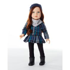 "Journey Girls Fashion Pack - Blue Plaid Top - Toys R Us - Toys ""R"" Us 19.99 This is just the outfit not the doll"