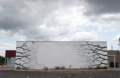 Street art van David de la Mano