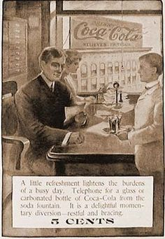 Coca-Cola ad from 1906