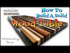 Wooden Bench Plans Luxury How to Build A solid Wood Table top Solid Wood Countertops, Outdoor Kitchen Countertops, Epoxy Countertop, Butcher Block Table Tops, Solid Wood Table Tops, Diy Table Top, Make A Table, Woodworking Patterns, Woodworking Projects