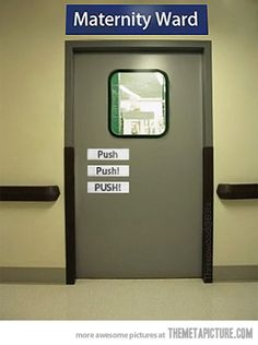Some hospital admin had a sense of humor....