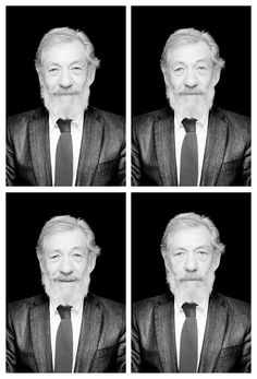He has the most twinkly, wizard-y eyes and seems like such a kind, grandfathery type! I can't imagine anyone else ever playing Gandalf.