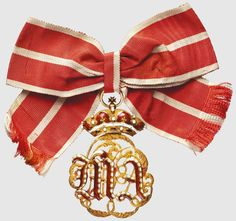 Badge of Honour for Dames of The Court of The Grand Duchy of Tuscany