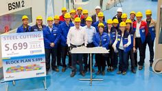 Royal Caribbean International Begins Building Newly Named Ovation of the Seas | Popular Cruising (Image Copyright © Royal Caribbean International)
