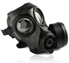 AVON FM12 Gas Mask - initally developed for NATO operations. Now widely used across the globe by numerous military forces. Its unique blend of features makes it the ideal solution for those responding to incidents involving WMDs. Its low profile is ideally suited to tactical situations where sighting of weapons is required. Light weight face piece and very low breathing resistance provides high level of comfort.