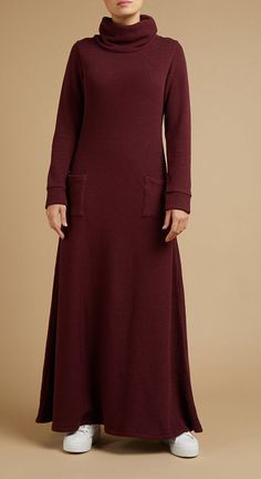 Discover stylish Modest Clothing by Aab, the Modest, Ethical & Sustainable fashion brand. Black Abaya, Cozy Knit, Dress With Cardigan, Mode Hijab, Abayas, Modest Outfits, Maxi Dresses, Sustainable Fashion, Daughters