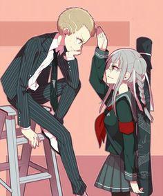 Peko and Fuyuhiko