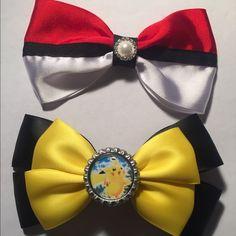 Pokemon New handmade set Pokemon hair bows Accessories Hair Accessories