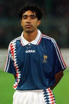 Patrice Loko France - Zdjęcia | obrazy imago France, Adidas, Sports, Image, Tops, Fashion, Blue, Football Soccer, Hs Sports