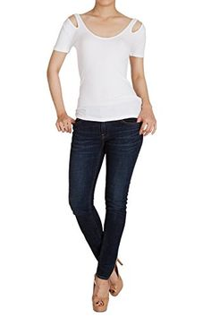 Hipsteration Womens Short Sleeve Overall Solid Color T-Shirts Top Black, M Hipsteration http://www.amazon.com/dp/B019Q74KJ4/ref=cm_sw_r_pi_dp_xovIwb1N0F0YM