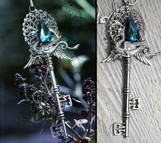 Key-Dragon pendant