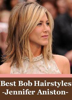 Idées Coiffures Pour Femme 2017 / 2018 Les meilleures coiffures de bob Jennifer Aniston