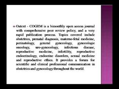 Clinical Obstetrics, Gynecology and Reproductive Medicine