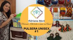 MACRAME DIY . #1 PULSERA UNISEX