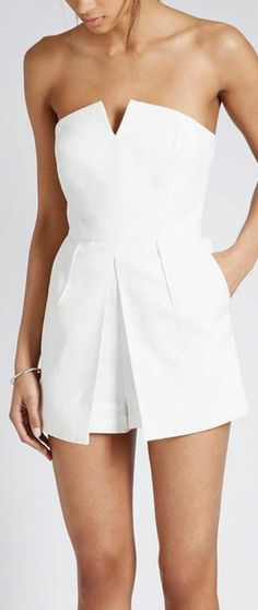 How to adopt the playsuit in 55 photos? Classy Outfits, Trendy Outfits, Summer Outfits, Fashion Outfits, Womens Fashion, Fashion Trends, Looks Chic, Looks Style, Cute Fashion