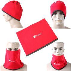 #Spring #AdoreWe #TomTop - #generic Winter Polar Fleece Hat Neck Warmer Cap Scarf Outdoor Sports Hood Red - AdoreWe.com
