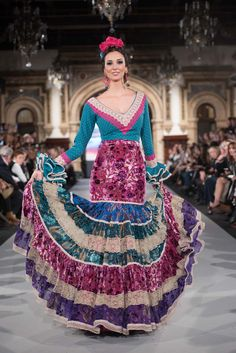 We Love Flamenco 2020 - Sevilla Dance Dresses, Cute Dresses, Beautiful Dresses, Dresses Dresses, Flamenco Costume, Flamenco Dancers, Tribal Dress, Wedding Costumes, Folk Costume