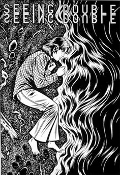 A beautifully disturbing allegory of puberty, teenage superficiality, and isolation. (Black Hole - Charles Burns)