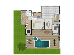 A website where you can design your own house/floor plans.