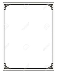 Home Office:Certificate Border Stock Photos, Pictures, Royalty Free With Regard To Word Document Frames Borders Regarding Comfy word document frames borders regarding Comfy Certificate Border, Free Certificate Templates, Templates Printable Free, Printables, Art Deco Borders, Borders For Paper, Borders And Frames, Page Borders Design, Border Design