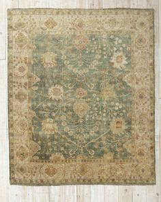 @EILEEN FISHER Transcendent Hand-Knotted Wool Rug