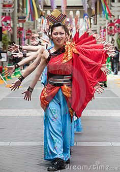 japanese daihanya festival dancers Editorial Stock Photos & Images of People - Page 16