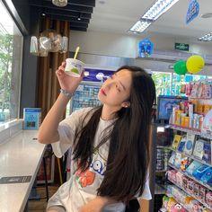 Korean Girl Photo, Korean Boy, Ulzzang Korean Girl, Cute Korean Girl, Cute Girl Photo, Asian Girl, Korean Aesthetic, Aesthetic Girl, Casual Makeup