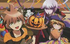 Dangan Ronpa Halloween #anime