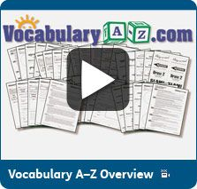 All vocabulary building lessons are automatically generated online for ...