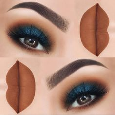 Beautiful makeup ideas per blue eyes 16 beautiful - make-up - . - Beautiful makeup ideas per blue eyes 16 beautiful – make-up – up - Peacock Eye Makeup, Dramatic Eye Makeup, Smokey Eye Makeup, Skin Makeup, Eyeshadow Makeup, Navy Eye Makeup, Navy Eyeshadow, Blue Eyed Makeup, Blue Eyeshadow For Brown Eyes