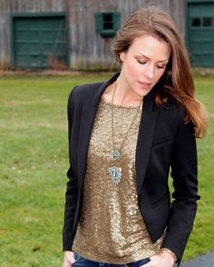 Penny Pincher Fashion: Double-Duty Sequins