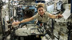 Iranian-American entrepreneur Anousheh Ansari became the first female space tourist when she funded her own way to the International Space Station aboard a Russian Soyuz space capsule in 2006 through the firm Space Adventures.
