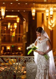 Hall of Mirrors. Cinti Netherland Hilton  white Calla Lillies Skip Dorl Florist Brideface. Leppert Photography