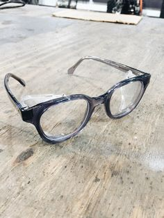 Tired of getting junk in your eyes while riding? Check out these vintage styled safety glasses even Clark Kent would be proud of! They meet ANSI 787.1 Safety Standards ( Yeah... not sure what that mea