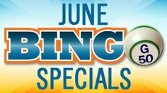 Share this with your friends and earn B Connected Social Points to enter valuable prize giveaways. Cashball Jackpot Special  Mondays & Thursdays in June at 11:00am, 1:00pm, 7:00pm & 9:00pm  $1,000 Bonus Ball When You Win On B #6  $500 Special Ball When You Win On Anything Ending In 6      Father's Day Giveaway  Sunday, June 15 , 2014  All Players during all sessions receive a Gold Coast Hat while supplies last.      (4) $1,000 Coveralls - Grand Weekend Special  Friday & Saturday ...