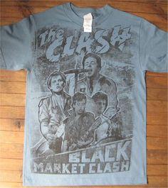THE CLASH Tシャツ BLACK MARKET CLASH