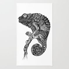 Chameleon iPhone Case by Ejaculesc - Chameleon, Iphone Cases, Rugs, Animals, Animales, Animaux, Types Of Rugs, Chameleons, Rug