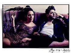 Xavier Dolan and Monia Chokri