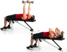 Dumbbell Lying Triceps Extensions http://www.menshealth.com/fitness/best-tricep-workouts/slide/7