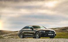 Télécharger fonds d'écran Mercedes-Benz CLS 400 D AMG, 4k, 2018 voitures, la nouvelle CLS, voitures allemandes, Mercedes