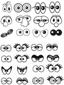 Amazing Learn To Draw Eyes Ideas. Astounding Learn To Draw Eyes Ideas. Art For Kids, Crafts For Kids, Arts And Crafts, Art Crafts, Art Plastique, Learn To Draw, Cartoon Drawings, Eye Drawings, Drawing Faces